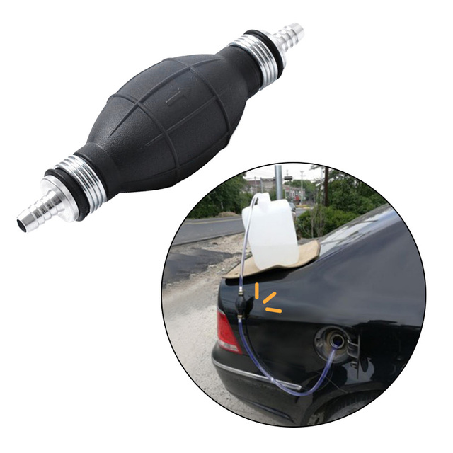 6/8/10/12mm Rubber Aluminum Alloy Bulb Hand Fuel Pump Line Motor Boat Car Petrol Pump For Car Boat Outboard Motor лодочный мотоp