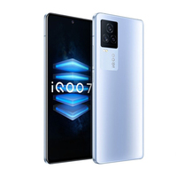 iQOO 7 5G Smart Phone Snapdragon 888  6.62inch 120Hz AMOLED Display 120W Fast Charging  LPDDR 5 UFS 3.1 WIFI 6 Android 11 2