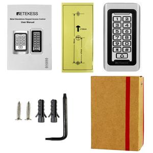Image 5 - 2pcs RETEKESS T AC03 לוח מקשים RFID בקרת גישה מערכת קרבה כרטיס עצמאי 2000 דלת בקרת גישה עמיד למים מקרה
