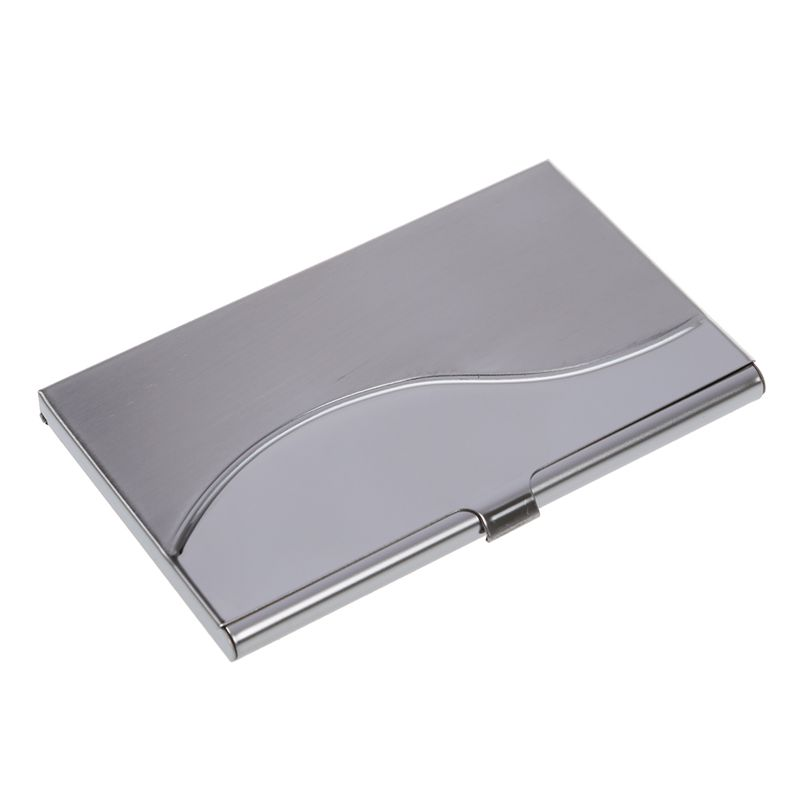 Stainless Steel Aluminum Case Transmission Case Commercial Business Card Credit Card Holder