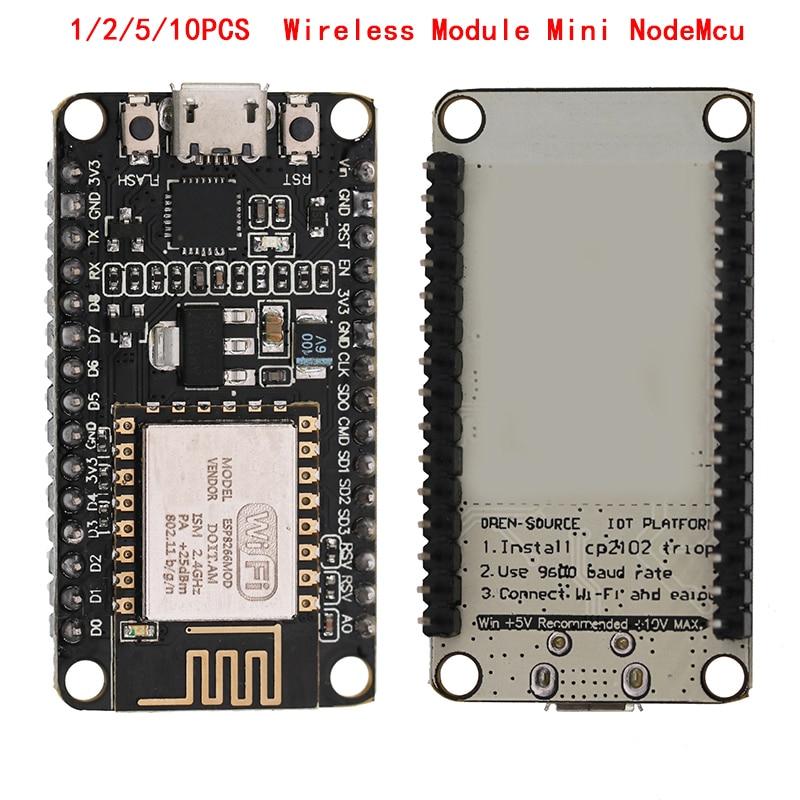 1/2/5/10 PCS ESP8266 CP2102 Wireless Module Mini NodeMcu CH340 Lua WIFI Internet Of Things Development Board Based ESP8266 TO