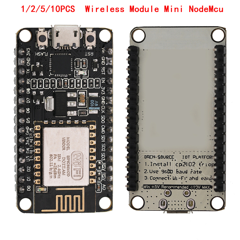 1/2/5/10 PCS ESP8266 CP2102 Wireless Module Mini NodeMcu CH340 Lua WIFI Internet Of Things Development Board Based ESP8266 TO image