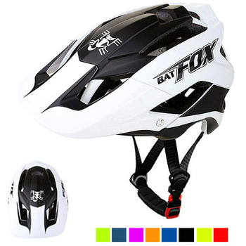 BATFOX Homens Capacete Da Bicicleta Capacete de Mountain Bike XC TRAIL MTB Ultraleve Capacete Estrada Integ-Moldado cruz Ciclo Ciclismo BMX capacete 1