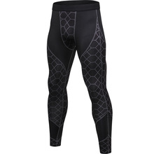Compression Pants Mens Running Tights Fitness Workout Yoga Long SlimTrousers GYM Training Leggings Men Sports Clothing