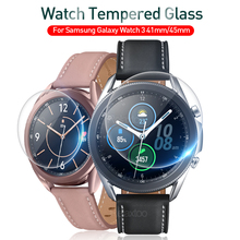 Screen-Protector Samsung Galaxy Cover Strap-Accessories Band Watch for 3-45mm 41mm Film-Glass