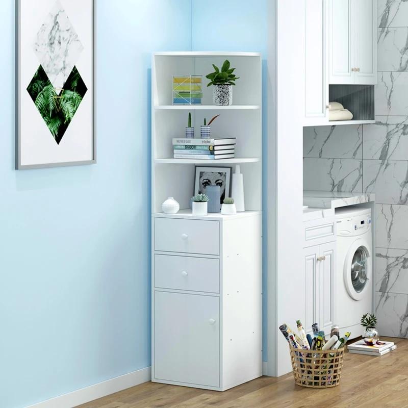 Corner Frame Living Room Simple Storage Cabinet Home Bookshelf Floor To Ceiling Bedroom Bookcase Holders Racks Aliexpress