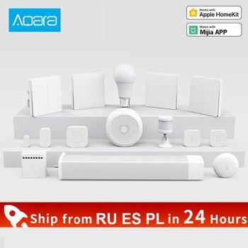 Xiaomi Aqara Smart Home kits Gateway 3 Camera Wall Wireless Switch Door Window Sensor wireless relay module For Mijia APP