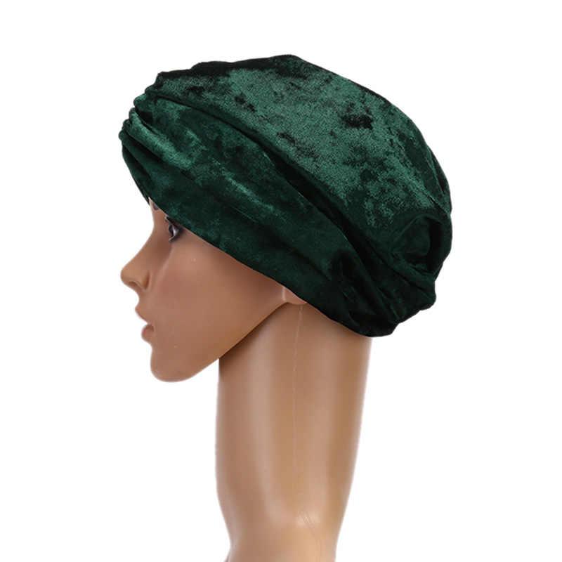 サテンボンネットサロンボンネット夜の髪帽子自然巻き毛のダブル弾性入浴睡眠女性ヘッドカバーラップ帽子