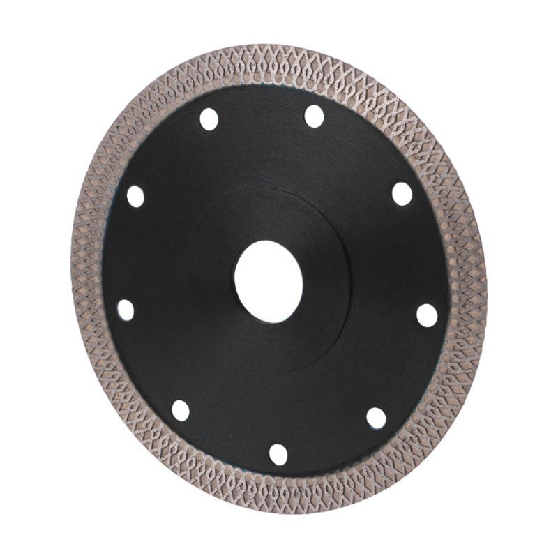 105/115mm/125mm Thin Diamond Ceramic Circular Disc Black Saw Blade Porcelain Hot 40JE