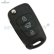 Flip remote key with 46chip 3 button TOY48 434Mhz for Hyundai elantra car remtekey