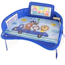 Wasserdicht Tabelle Auto Sitz Tablett Lagerung Kinder Spielzeug Infant Halter Kinder Dining Trinken Auto Sitz Tisch Schreibtisch Mit Halter Für telefon