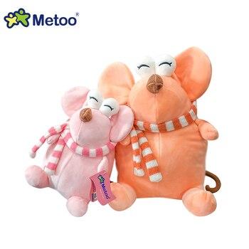 Мягкая плюшевая игрушка крыса Metoo, 24 см. 4