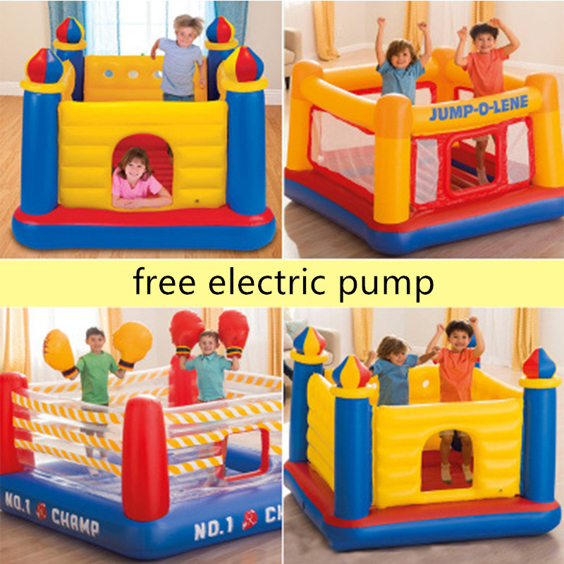 Home Use Kids Inflatable Castle Inflatable Wrestling Jumping Bouncy Boxing Rings Bounce House Sport Playng Game For Children