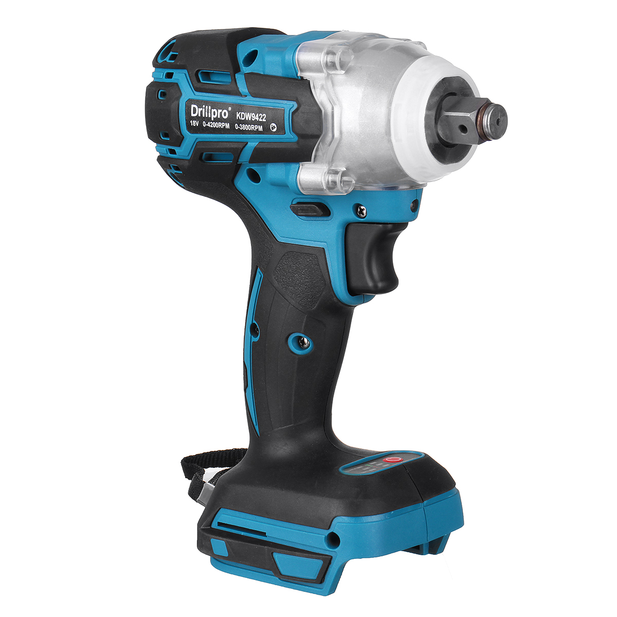 Tools : 18V 280N m Cordless Impact Wrench Driver Brushless Motor 1 2inch Square Electric Wrench With LED Light Adapted To Makita DTW285Z