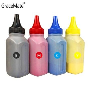 GraceMate Refill Toner Powder Compatible for OKI C610 C610DN C610CDN Printers Color Toner Powders 4 bottle color toner powder 4 pcs chip compatible crg329 crg 329 crg 329 bottle toner powder color toner laser toner