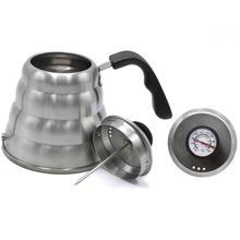 304 paslanmaz çelik filtre kahve kaz boynu su ısıtıcısı Pot çaydanlık su ısıtıcısı çay makinesi şişe mutfak aksesuarı 1000/1200ML