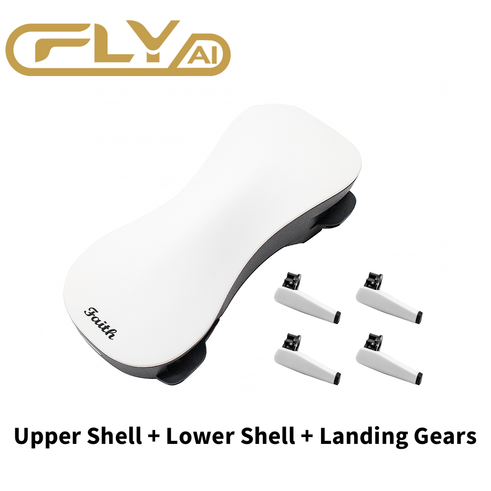 Drone Original Shell For CFLY Faith Case Faith 4K Drone Cover Upper Case + Lower Case + Landing Gears Set Drone Accessories Kit
