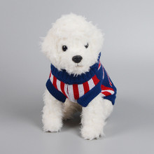 Hot sales british style autumn and winter pet dog clothes for Teddy