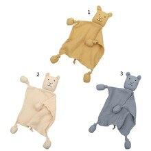 Bebek hayvan oyuncaklar yatıştırıcı yatıştırmak havlu yumuşak rahatlatıcı oyuncak yatıştırıcı havlu yatıştırıcı havlu bebek uyku oyuncak peluş oyuncak