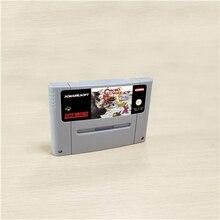 Chrono Trigger lub szkarłatne echa lub płomień wieczności lub prorocy Guile karta do gry RPG wersja EUR angielski oszczędzanie baterii