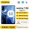 realme 7 5G 6.5''FHD+ Dimensity 800U 6GB 128GB 120Hz Display 48MP Camera 5000mAh 30W Dart Charge NFC Mobile Phone 1