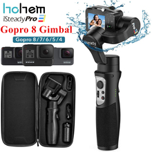 Hohem iSteady 3 Pro 3 ejes cardán estabilizador para GoPro 8 Cámara de Acción cardán de mano para Gopro héroe de 8,7 de 6,5 de 4,3 Osmo acción