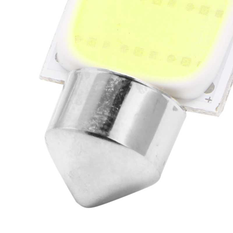 36mm Festoon CAN BUS C5W plazma COB LED boyutu iç beyaz SMD ampul X6HF