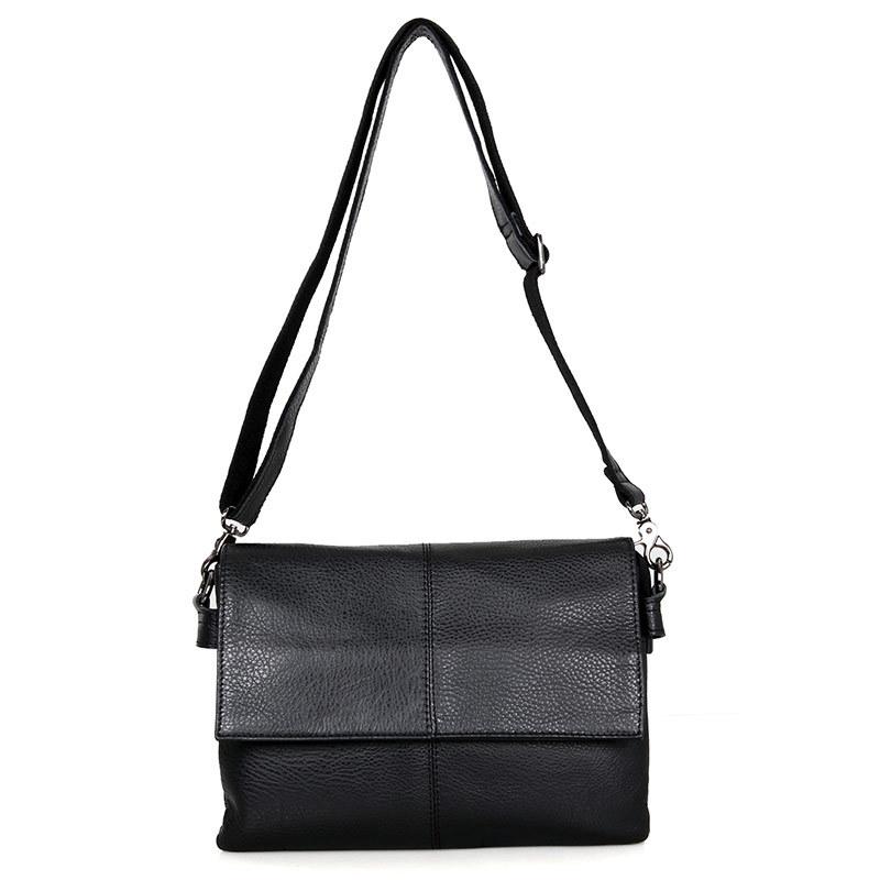 JMD WOMEN'S Leather Bags Foreign Trade Retro Genuine Leather Single-shoulder Bag for Women Leans Me Shoulder Bag C003A