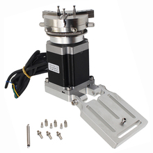 pt sd203 r axis 360 degree manual rotary stage 100mm rotation stage rotating platform rotary stage Mini Rotation Axis Stainless Steel Rotating Fixture Ring Jewelry Rotary Marking Workbench + 69MM Chuck For Laser Marking Machine