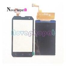 Novaphopat 100% Getest 4 inch Display Monitor Scherm Voor Caterpillar Cat B15 B15Q Lcd Touch screen digitizer sensor