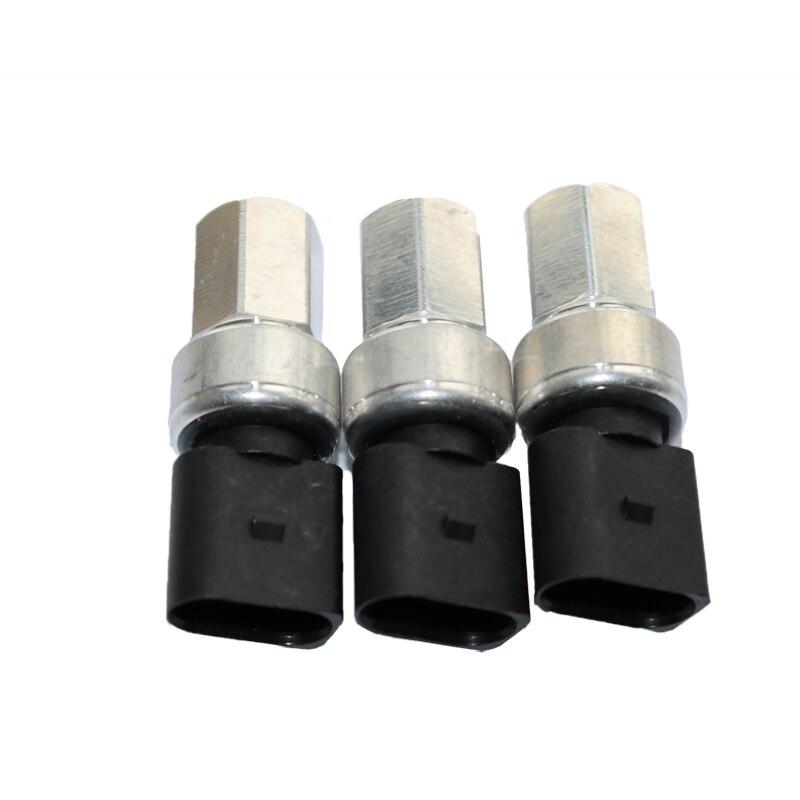 1K0959126E Air A/C Датчик давления переключатель для Golf J etta Passat Beetle CC 5K0 959 126D 1K0 959 126 D 1K0959126 - Цвет: 3PCS