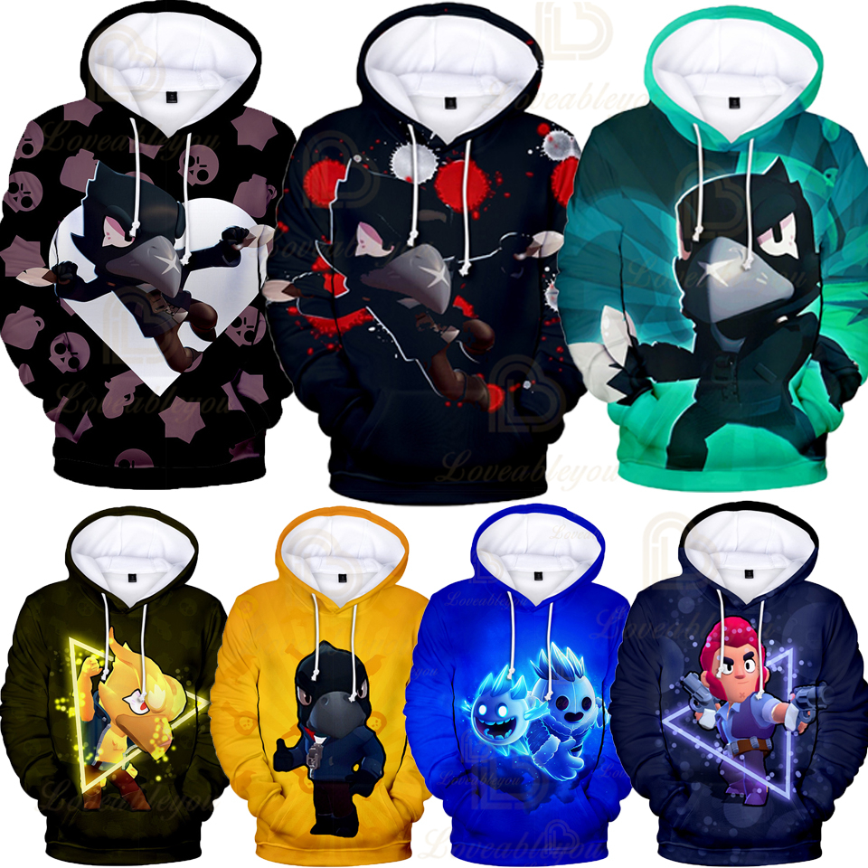Children's Wear Kids Hoodies Shooting Game 3d Print Hoodie Sweatshirt Boys Girls Harajuku Long Sleeve Jacket Coat Teen Clothes