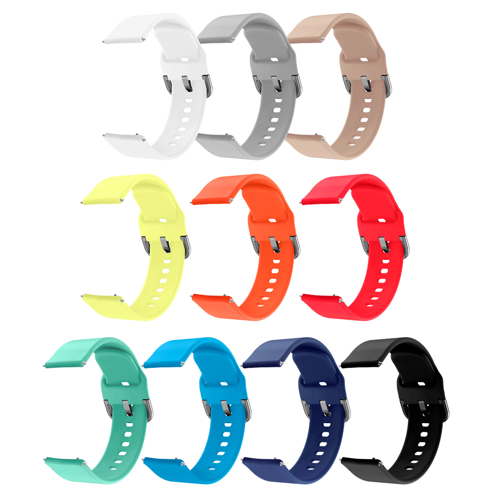 Image 5 - Colorful Rubber Soft Silicone Strap for Garmin Vivoactive3 Vivoactive 3 HR Smart Wristband Strap for Forerunner 645 Music band-in Smart Accessories from Consumer Electronics