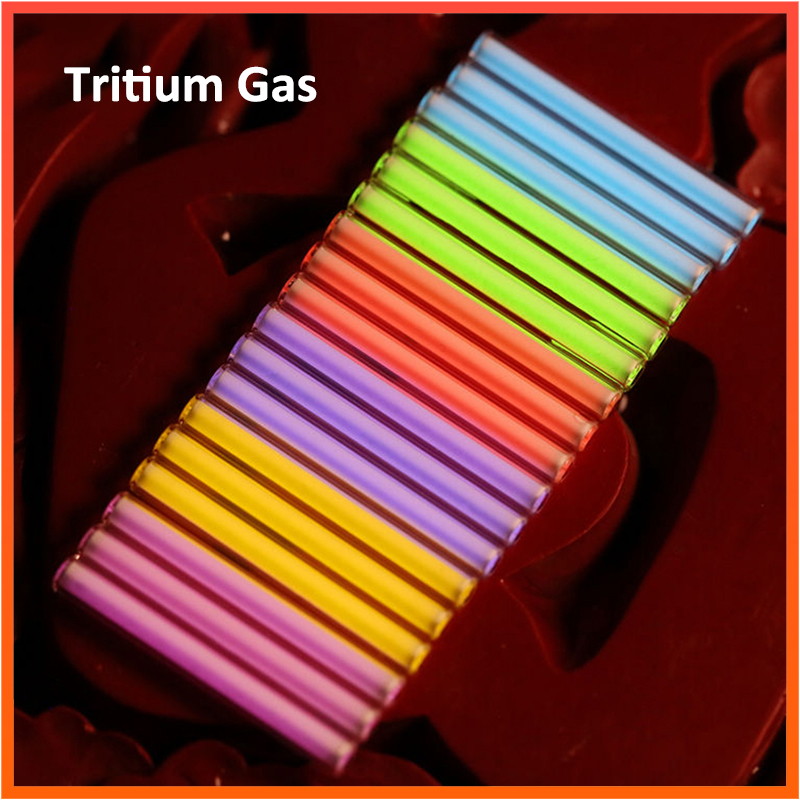 EDC 1 PCS Tritium Gas Tube Self Luminous For 20 Years Outdoor Safety Survival Tool Multi-color Selection Emergency Lights