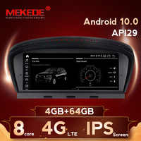 8 núcleos 4G + 64G android 10 coche reproductor multimedia GPS radio para BMW serie 5 E60 E61 E63 E64 E90 E91 E92 CCC CIC máscara 4G LTE WiFi