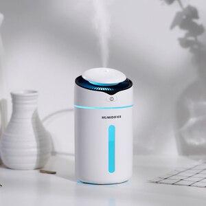 Image 4 - Hava Nemlendirici uçucu yağ Difüzörü aromaterapi nemlendirici Araba USB AROMA YAYICI Mini USB hava nemlendirici Gece Lambası Ile