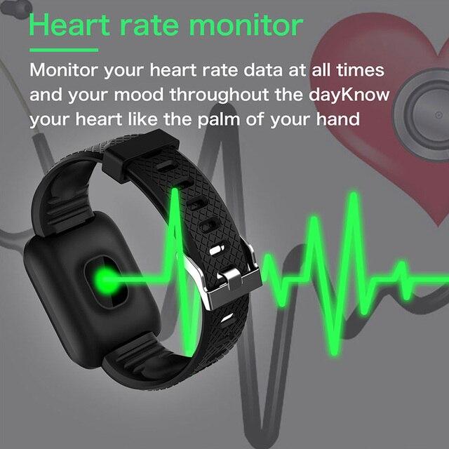 Έξυπνο ρολόι smartwatch αδιάβροχο για μέτρηση παλμών και δραστηριότητας