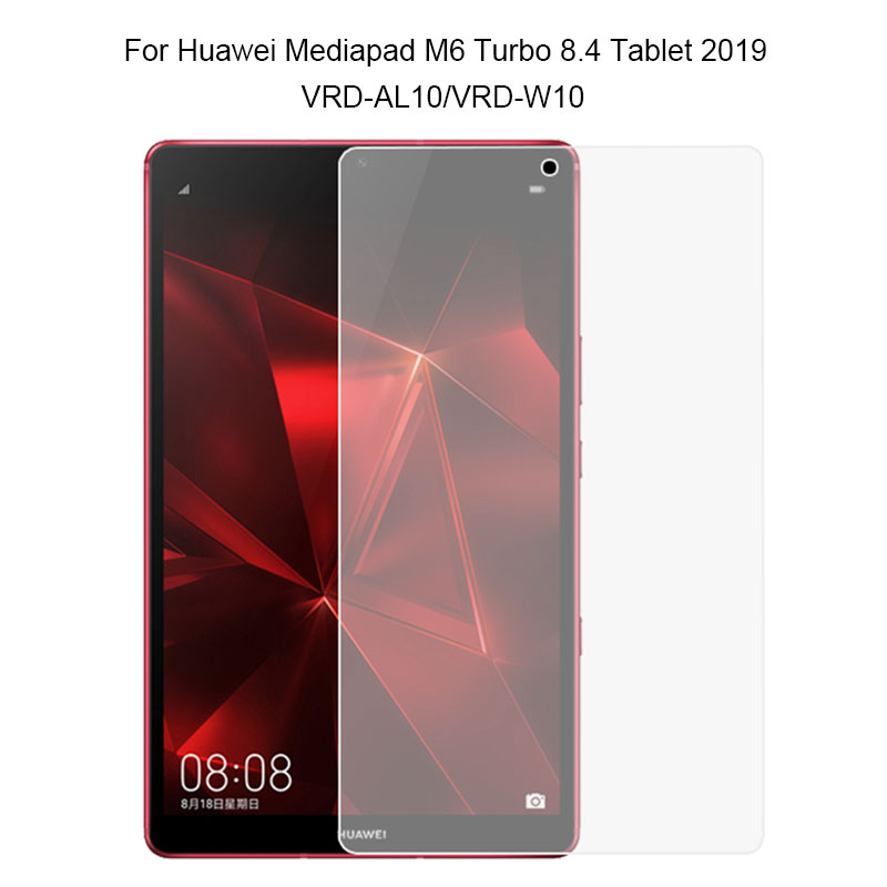 Clear Tempered Glass Screen Protector Film For HuaWei MediaPad M6 Turbo 8.4 2019 VRD-AL10/W10/AL09/W09 M5 SHT-AL09/W09 Tablet PC