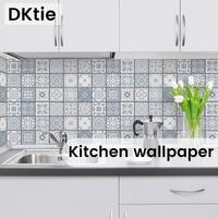Pegatinas de pared de mármol para cocina, papel de Contacto autoadhesivo impermeable y a prueba de aceite de PVC para encimeras, decoración del hogar