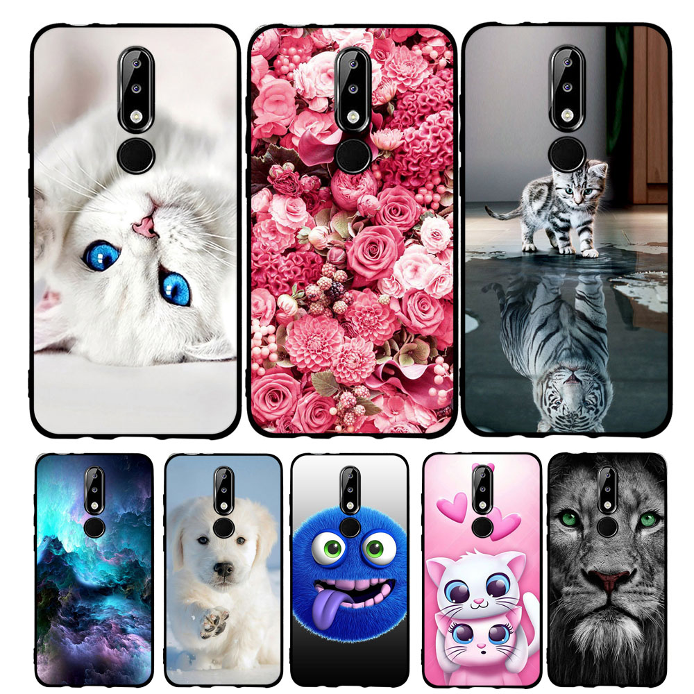 Phone Case For Nokia 5.1 Plus TPU Silicone For Nokia X5 Fashion 3D Pattern Cover For Nokia 5.1 Plus Coque Bumper Case 5.86 inch