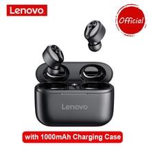 Lenovo ht18 fones de ouvido sem fio bluetooth fones de ouvido tws hifi som qualidade redução de ruído fones de ouvido com 1000mah estojo de carregamento
