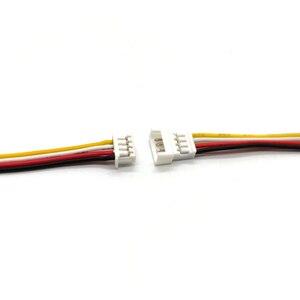Image 2 - 100 Paar Micro Jst 1.25 4 Pin Mannelijke En Vrouwelijke Connector Plug Met Draden Kabels