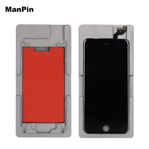Image 5 - 2in1 OCA Vacuum Laminating Mold No bend the flex Cable Silicone Pad LCD Alignment Mould For iPone 8 7 6S Plus Screen Repair Tool