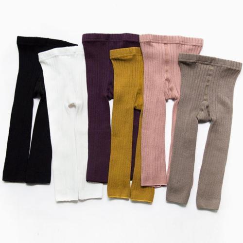 Kid Girls Knit Warm Leggings Infant Baby Toddler Newborn Boys Girl Solid Casual Stockings Children 0-5T Winter Warm Pantyhose