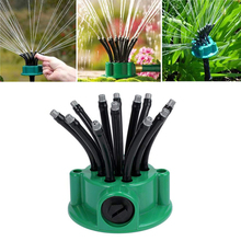 50pcs micro garden lawn water spray misting nozzle sprinkler irrigation system plant waterers garden irrigation drip head 360 Degree Rotating 12 adjustable Hose Irrigation Head Water Sprinkler Spray Nozzle for Lawn Garden Yard Irrigation Roof Cooling