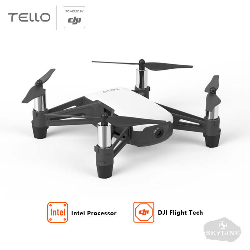 Tello Unmanned Aerial Vehicle Smart Plane Toy One-Button Take-off 720P High-definition Image Transmission Original Factory Genui