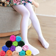 New Tights for Girls Baby Girl Stretch Trouser Skinny Pants Kids Dance Tights Pantyhose