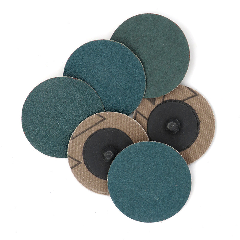 2-Inch 50 Mm Lock Turn Poly Lock Dish VSA Polishing Pad Spiral Sanding Disc Emery Cloth Sandpaper Rotating Sanding Disc Button R