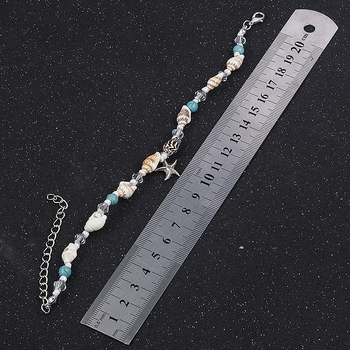 2019 New Simple Boho Women Bead Shell Anklet Ankle Bracelet Barefoot Sandal Beach Foot Jewelry tobilleras pulsera para tobillo 4