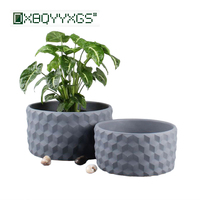 Delicate cement flower pot Nordic Simple succulent pot planter Creative bonsai pots Home Garden Desktop floor decoration
